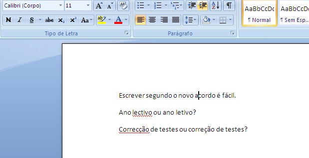 verificador ortografico word 2007