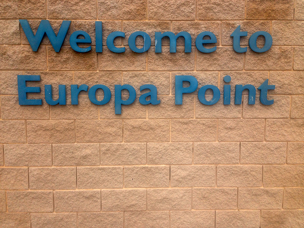 Ponto Welcome to Europa Point