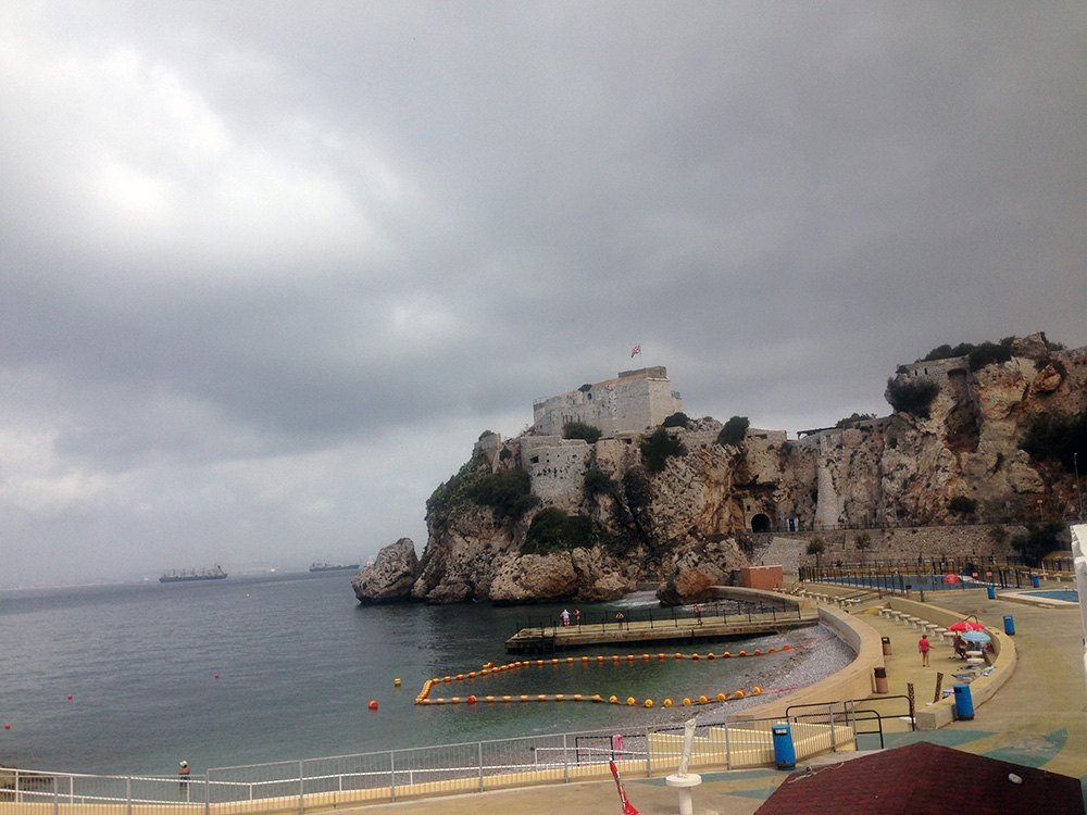 Parte sul de Gibraltar