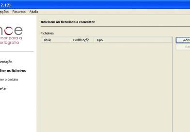 Converter ficheiros para o novo acordo ortográfico