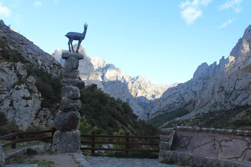 Mirador del Tombo nos Picos de Europa
