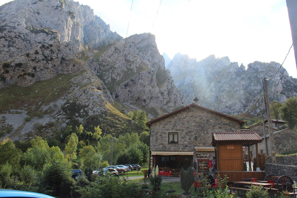 Caín de Valdeón nos Picos de Europa